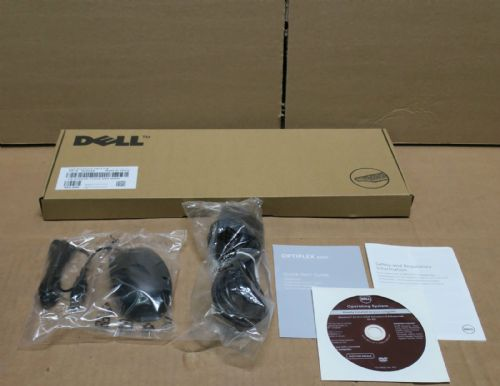 Dell C643N 11D3V USB QWERTY Keyboard & Mouse Optiplex 3020 Accessory Kit